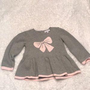 Baby girl Sweater dress top 18m Zip ZaP